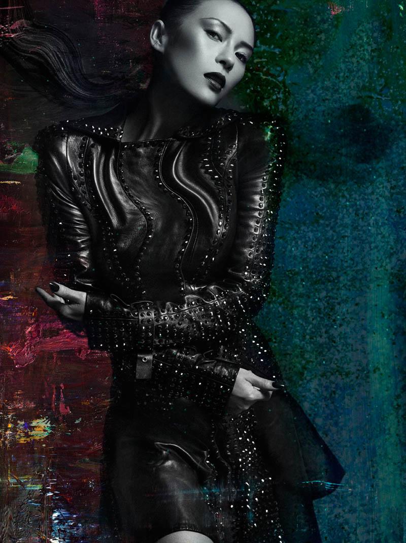 Zhang Ziyi by Hunter and Gatti for Flaunt Magazine November 2012