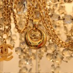 gold in chanel accessories jewellery