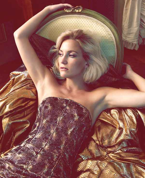 Kate Hudson by Camilla Akrans for Harper's Bazaar US October 2012