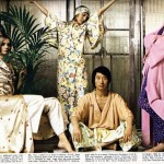 retro chinoiserie editorial