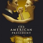 the american president movie poster - michael douglas and annette bening