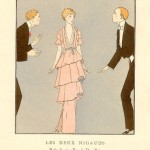 1920s fashion illustration images - Art deco fashion posters