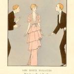 1920s fashion illustration images - Art deco fashion posters