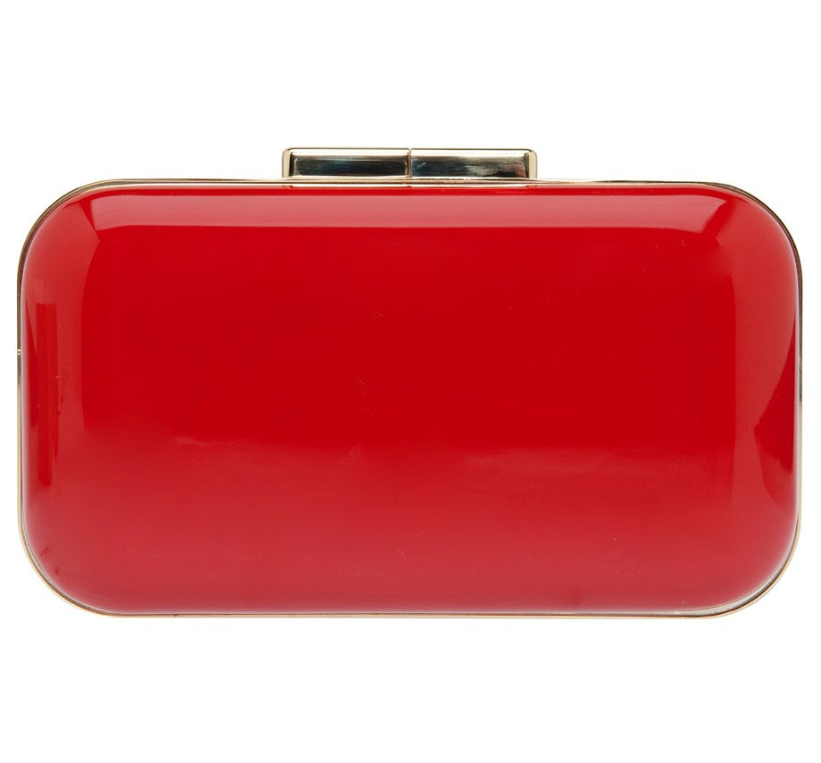 Red clutch for pinterest