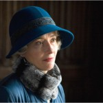 Emma Thompson blue hat and coat in 2008 brideshead revisited