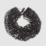 IRIS APFEL jewelry - Necklaces T-closure Wood - Black