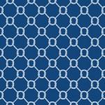 Jonathan Adler Wallpaper Ropes Reverse Navy