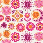 Jonathan Adler Wallpaper Sun Pink