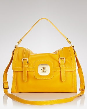 Longchamp Satchel - Gatsby Sport bag in yellow