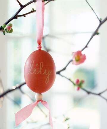 Personalised Easter egg photos