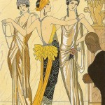 Pictures of art deco vintage - 1920s fashion illustration