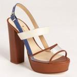 kate spade new york izzy sandal Cobalt Cream