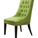 ACG Green Group Tufted Lime Green Fresca Sandy Wilson Accent Chair