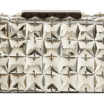 BCBGMAXAZRIA - Lulu Square Stone Clutch Crystal box bag