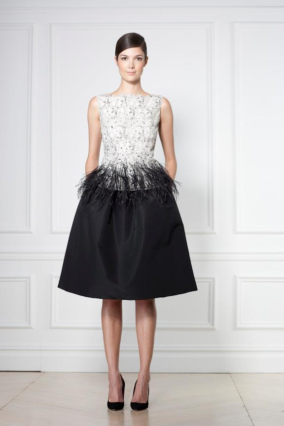 Carolina Herrera's Night Collection 2012