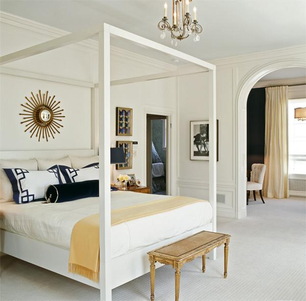 Elegant master bedroom - mylusciouslife.com