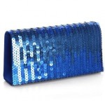 Jessica McClintock - Sequin Clutch Sapphire blue - clutch bags