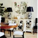 Living dining room - November 2007 Domino magazine