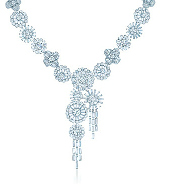 Tiffany diamond corsage necklace - The Great Gatsby collection