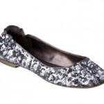 Womens Mossimo Ona Sequin Ballet Flat - Pewter from Target