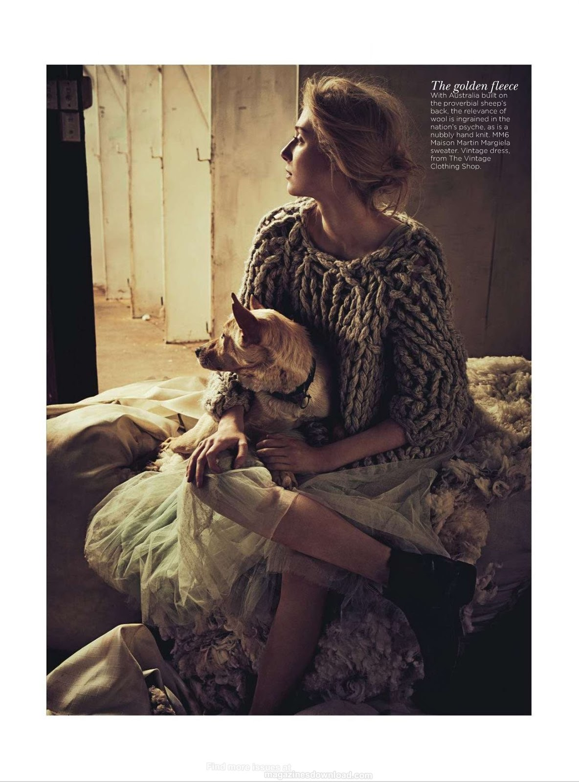 Gatsby actress Elizabeth Debicki by Will Davidson for Vogue Australia December 2012