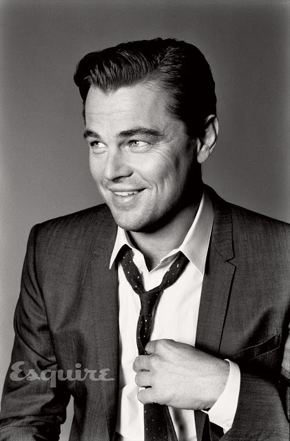 Gatsby - Leonardo DiCaprio by Max Vadukul for Esquire US May 2013