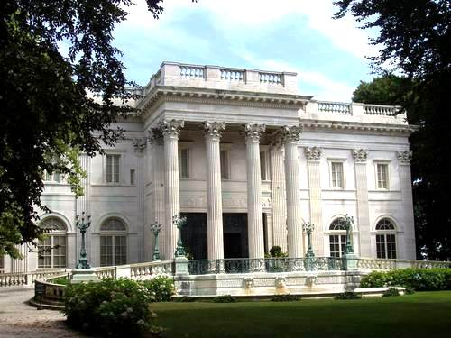 Marble House in Newport, the Vanderbilt houe