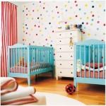 Colourful baby nursery photos