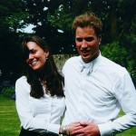 Younger Kate Middleton with Prince William