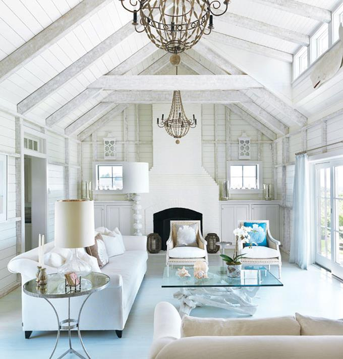 A beachy life beach house decor for Coastal beach house designs