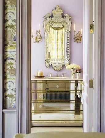 Mirrored bathroom furniture - bedroom bathroom drawers
