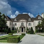 Photos - houses architecture - stately house - French style