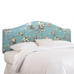 Skyline Twin Headboard - Floral Headboard - Blue