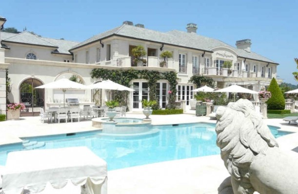 Lisa Vanderpump mansion in Beverly Hills