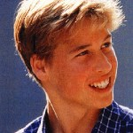 Prince William looking adorable as a teenage boy