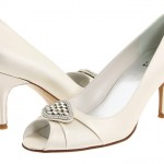 Stuart Weitzman Bridal & Evening Collection - Fofoso Ivory Satin heel