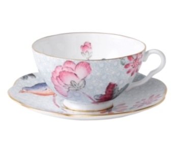 Blue Wedgewood Cup And Saucer 14