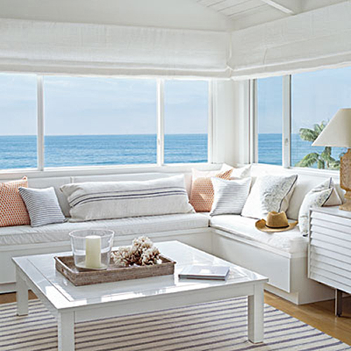 A beachy life beach house decor for Beach cottage style decor