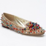 Beautiful beaded ballet flats