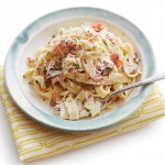 italian food - Country Ham Carbonara