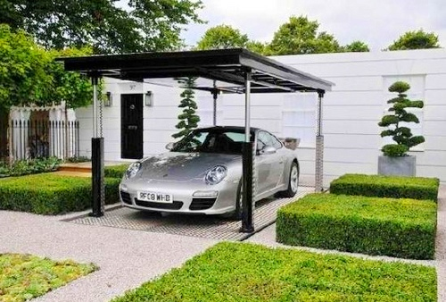 Stylish home luxury garage design for Garage design ideas gallery