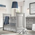 Stylish baby nurseries - gray-blue-boys-nursery-design