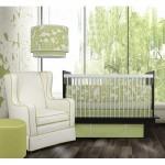 Green baby nursery decorating ideas