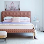 Luscious bedrooms - housetohome pink bed head and base