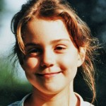 Pictures of Kate Middleton as a little girl