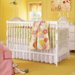 Beautiful baby nurseries - yellow-paint-baby-room