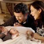 Royal baby photos - Mary and Frederik of Denmark with newborn twins