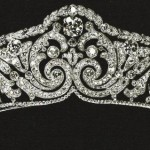 Crown tiaras - Diamond diadem Cartier