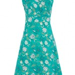 Emerald flower wrap dress - Dorothy Perkins