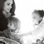Royal children - queen rania of jordan by mario testino